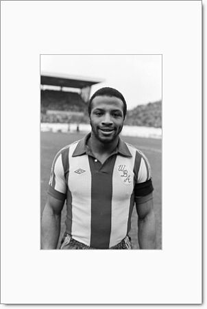 Cyrille Regis. At Highfield Road, 8 March 1980