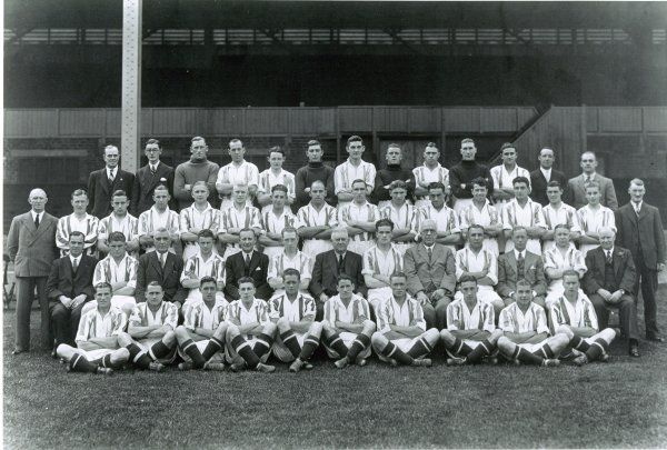 Albion full squad and directors August 1935