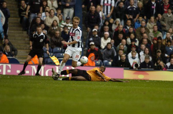 Albion 3 Wolves 0, 22 October 2006