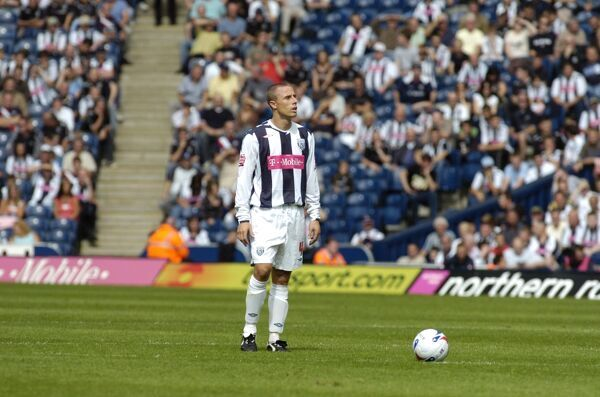 Chris Perry makes his Albion debut
