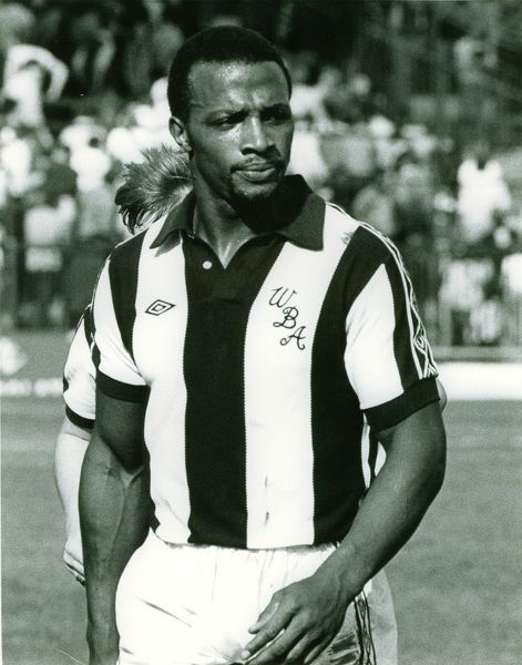 Cyrille Regis. Albion 0 Arsenal 1, 16 August 1980