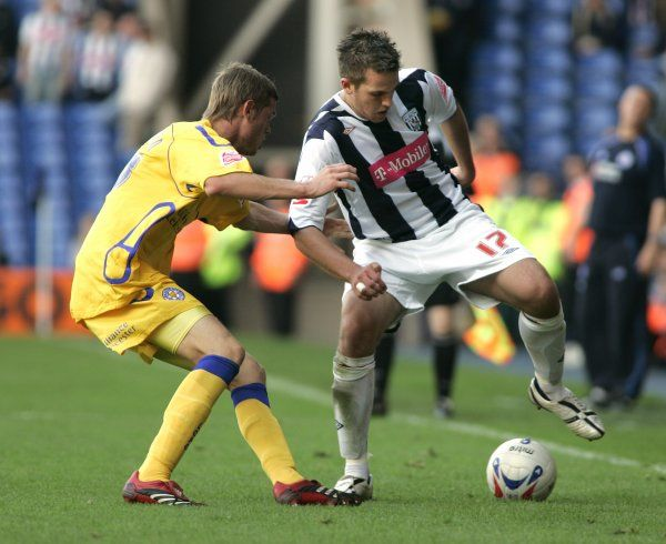 Darren Carter works Albion's left wing