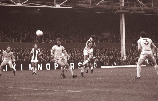 Albion v Everton 27 November 1976