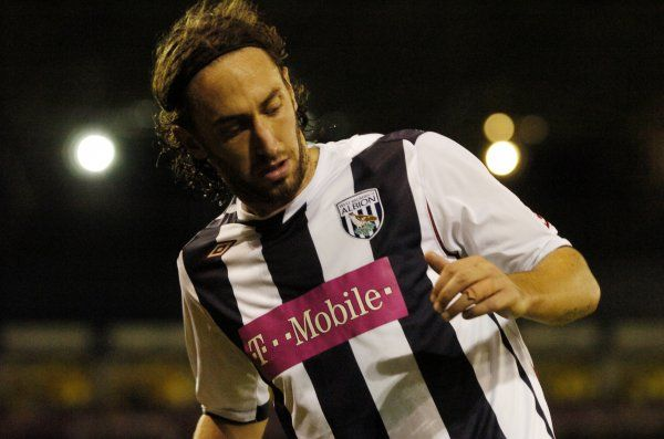 Jonathan Greening. Albion 0 Arsenal 2, Carling Cup Round 3, 24 October 2006