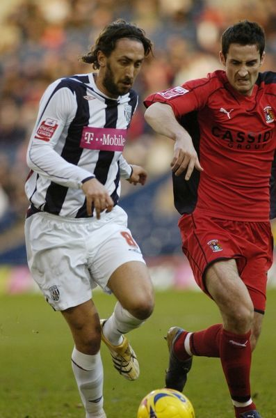 Jonathan Greening. Albion 5 Coventry City 0, 16 December 2006