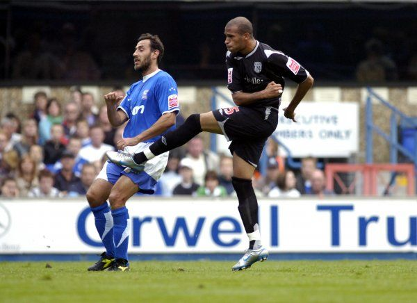 Ipswich Town 1 Albion 5, 14 October 2006