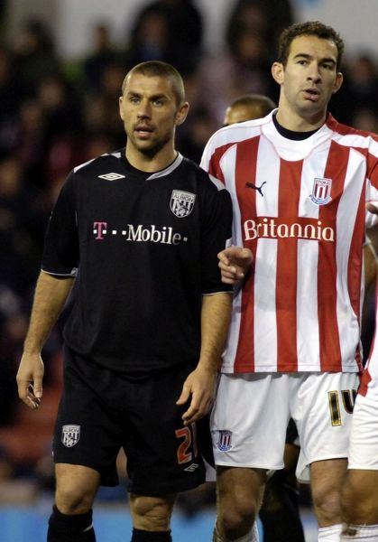 Stoke City 1 Albion 0, 25 November 2006