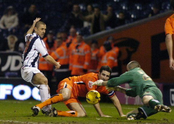 Albion 3 Luton Town 2, 12 January 2007