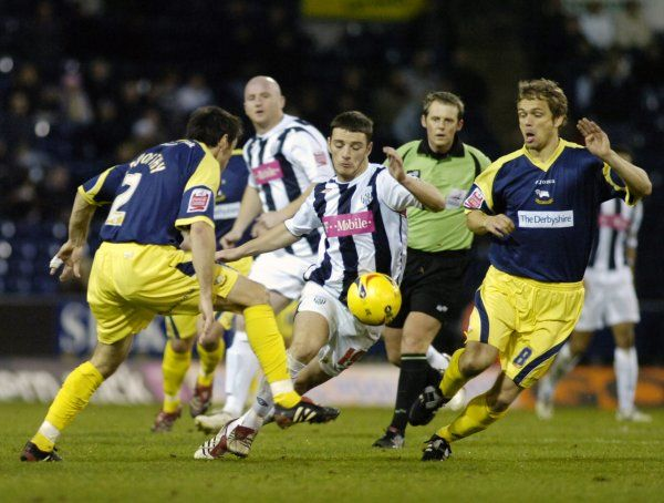 Albion 1 Derby County 0, 2 December 2006