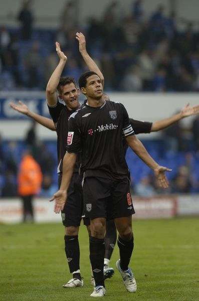 Look, six arms. Ipswich Town 1 Albion 5, 14 October 2006