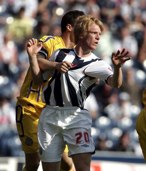 Paul McShane on his Albion debut