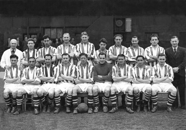 Promotion winning squad at The Hawthorns