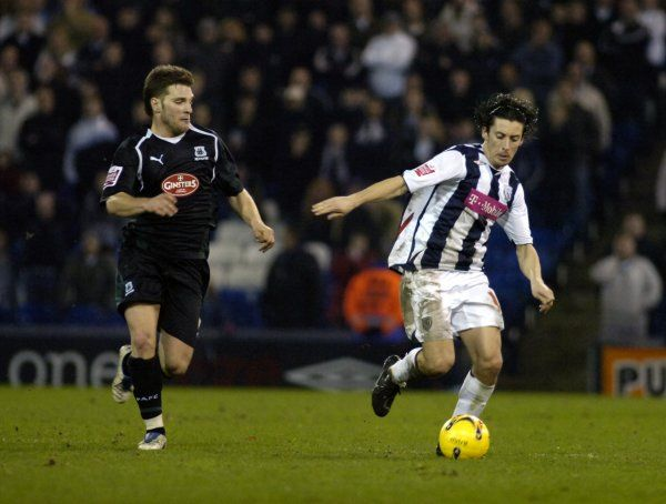 Robert Koren. Albion 2 Plymouth Argyle 1, 31 January 2007