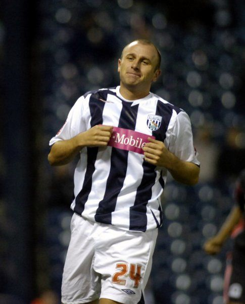Ronnie Wallwork. Albion 3 QPR 3, 31 October 2006