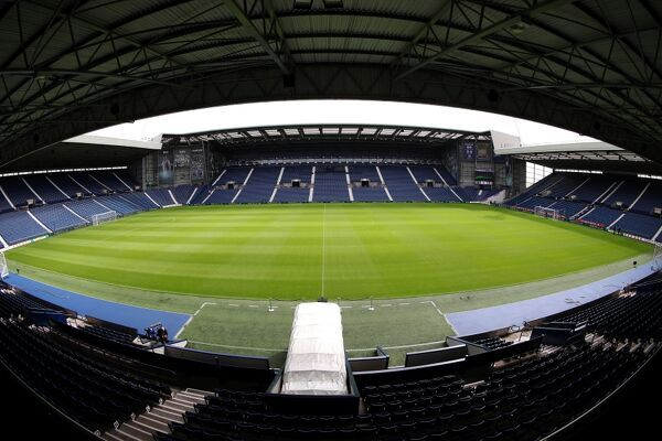 The Hawthorns, the home stadium of West Bromwich Albion