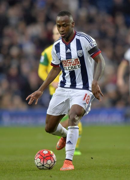 _XP24881. Saido Berahino of West Bromwich Albion