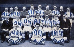 1948/49 team and officials