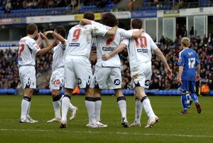 Albion celebrate the second goal