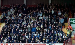 Albion fans at Bramall Lane