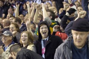 Albion fans enjoy the win