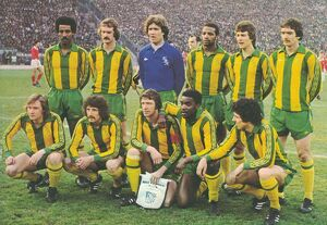 The Albion side that took on Red Star Belgrade