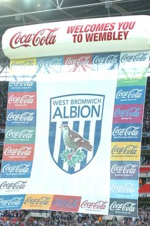 Albion's flag before the game