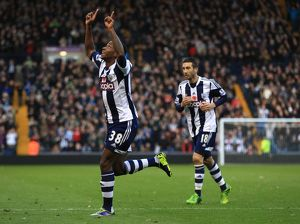 <b>West Bromwich Albion v Crystal Palace : The Hawthorns : 02-11-2013</b><br>Selection of 10 items