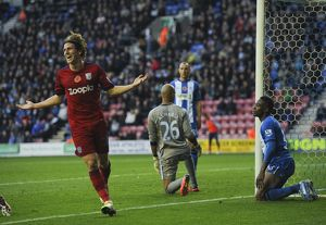 Barclays Premier League Wigan Athletic v West Bromwich Albion - DW Stadium
