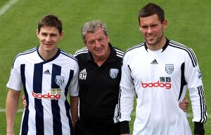 Ben Foster and Zoltan Gera Unveiling - West Bromwich Albion Training Ground