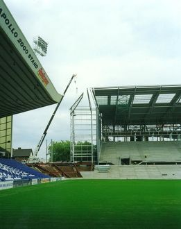 Building of the East Stand, 2001
