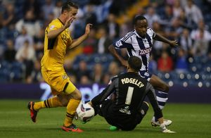 Capital One Cup - Second Round - West Bromwich Albion v Newport County - The Hawthorns