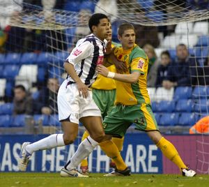 Curtis Davies goes up for a corner