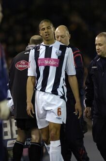 Curtis Davies limps off after his season was ended
