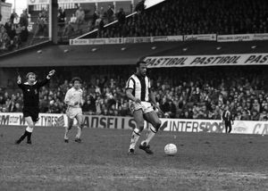 Cyrille on the ball