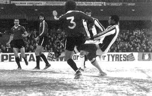 Cyrille shoots for goal