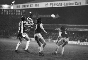 Cyrille thumps in a header