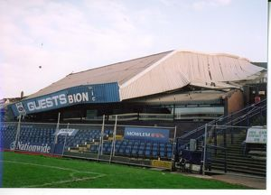 Demolition of the Rainbow Stand, January 2001