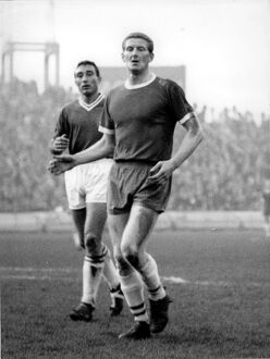 Derek Kevan at Stamford Bridge