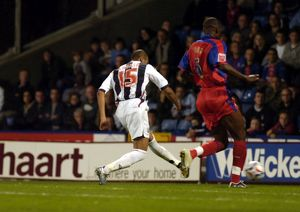 Diomansy Kamara tucks away Albion's second goal