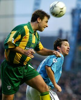FA Barclaycard Premiership - Man City v West Brom - Maine Road