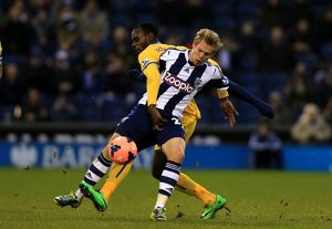 FA Cup - Third Round - West Bromwich Albion v Crystal Palace - The Hawthorns