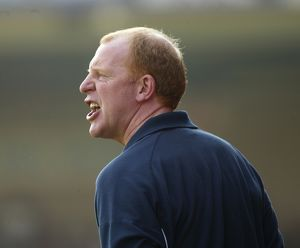 Gary Megson, delighted to be back at the Bescot
