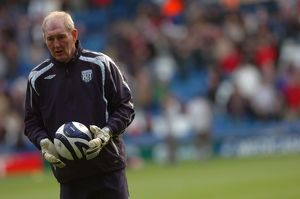 Goalkeeping coach Joe Corrigan