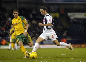 Jonathan Greening on the attack
