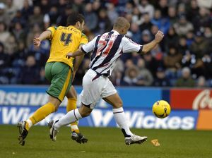 Kevin Phillips beats Shackell to the ball