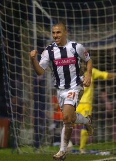 Kevin Phillips celebrates goal number three