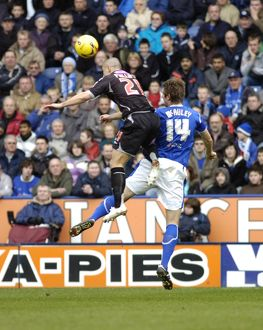 Kevin Phillips gets up for a header