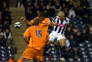 Kevin Phillips nods in the Albion goal