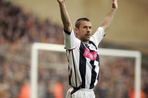 Kevin Phillips salutes the Albion crowd