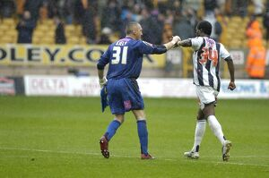 Kiely and Sodje shake on it